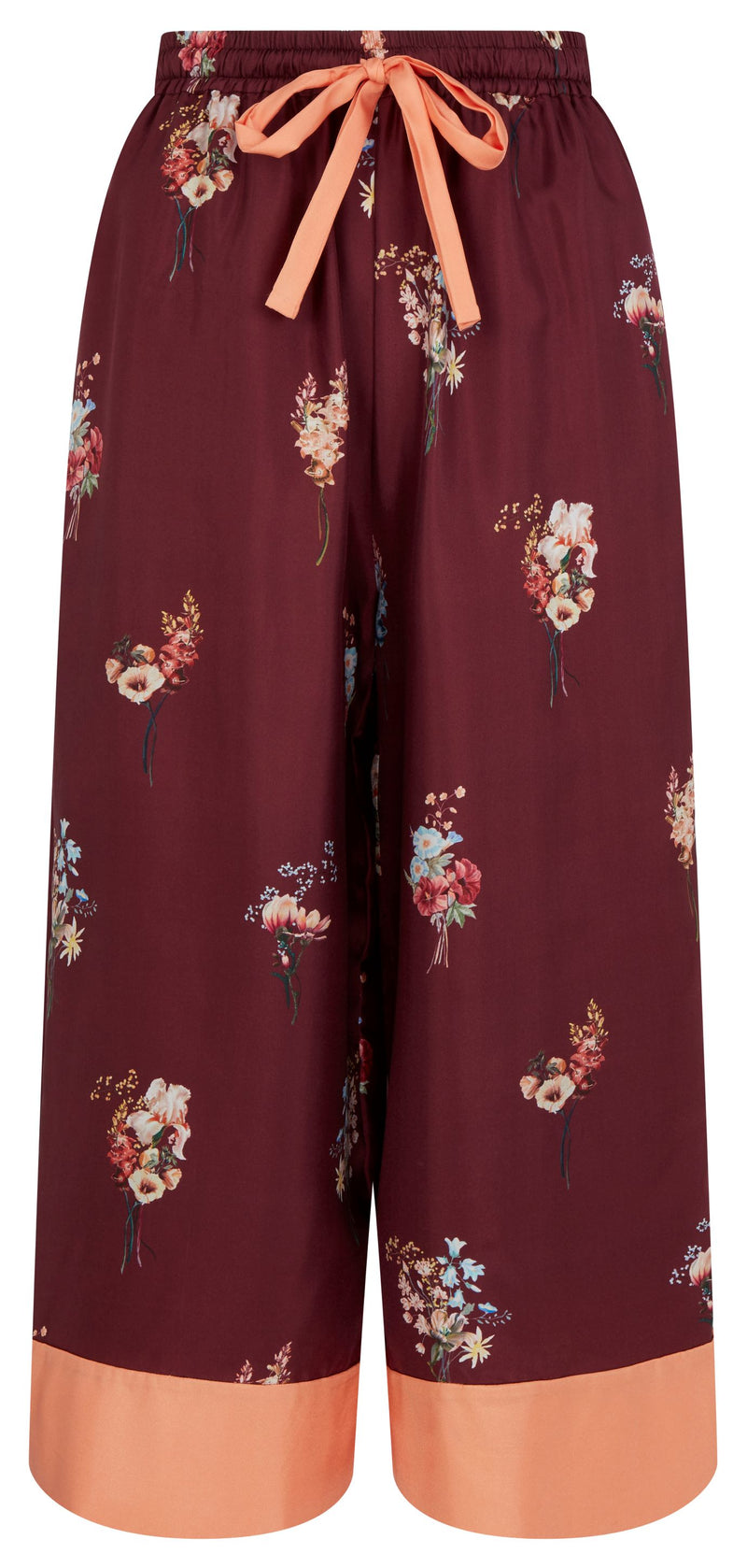 Burgundy Kelsi Pants