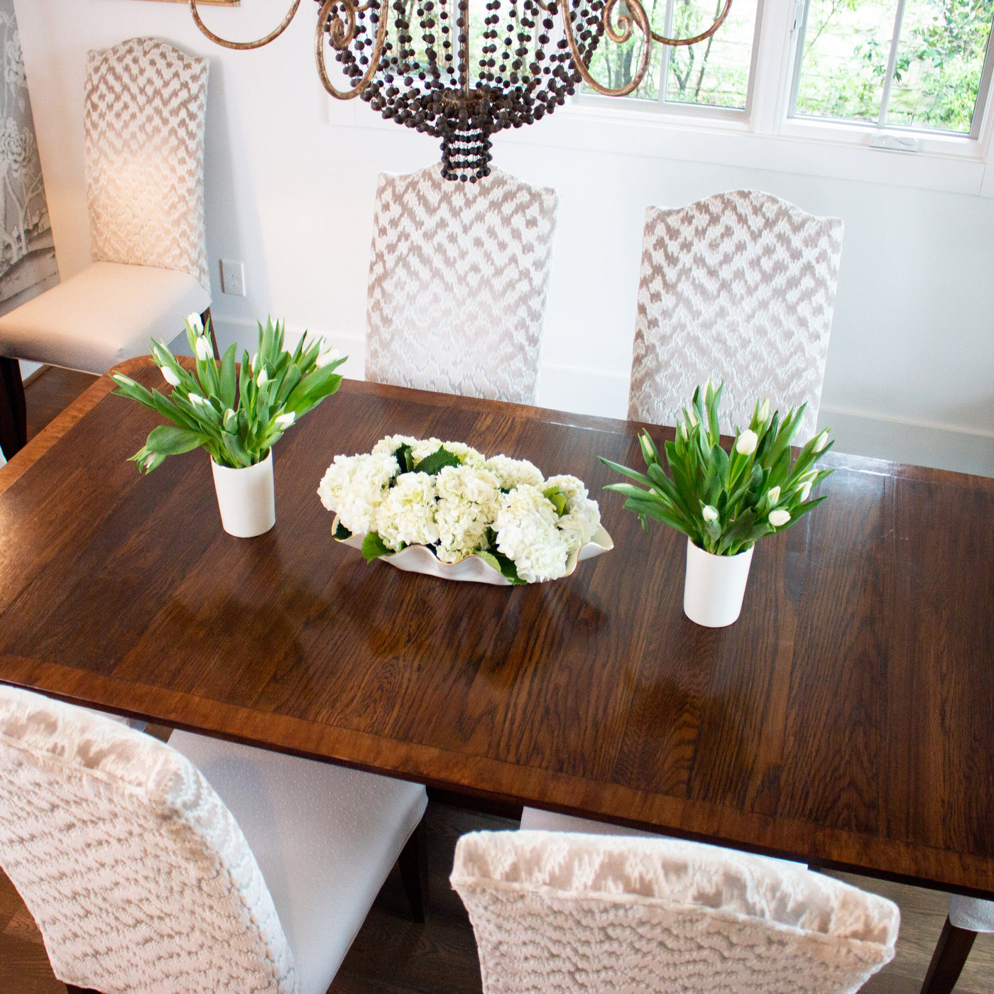 Styling a Dining Table using Susan Gordon Pottery