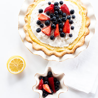 The perfect summer tart dish and recipe to go with it!