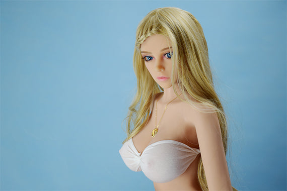 Lifelike Sex Doll – TPE Blonde Ruby 132cm Big Breast – Free Sex Swing