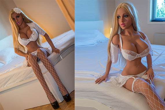 Real Love Doll TPE Sex Doll For Sale – Lara 158cm Big Breast (Free Sex Swing + Lingerie)
