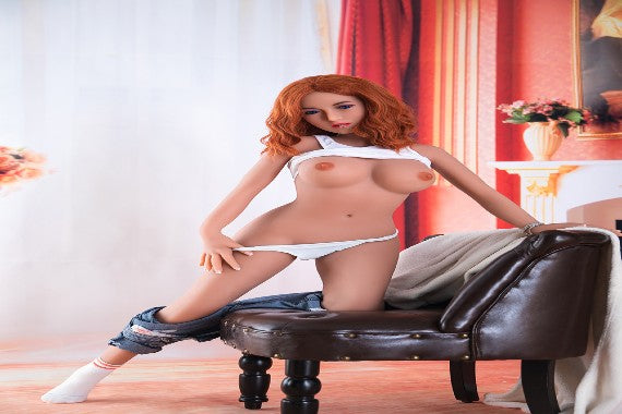Red head Latina sex doll – TPE Molly 148cm | 58 inch | 4.8 ft | C cup (Free Sex Swing + Lingerie)
