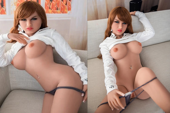 Curvy sex doll – TPE Lacy 148cm | 58 inch | 4.8 ft | D cup (Free Sex Swing + Lingerie)