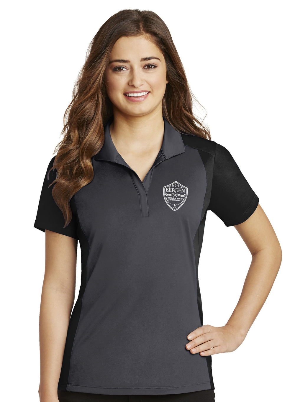 BERGEN HIGH LADIES POLO SHIRTS