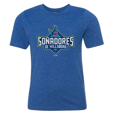 Bimm Ridder Youth Soñadores T-Shirt, Hillsboro Hops