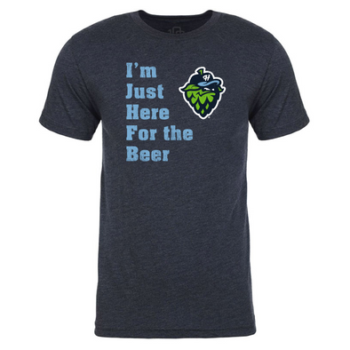 "108 Stitches ""Here for the Beer"" T-Shirt, Hillsboro Hops"