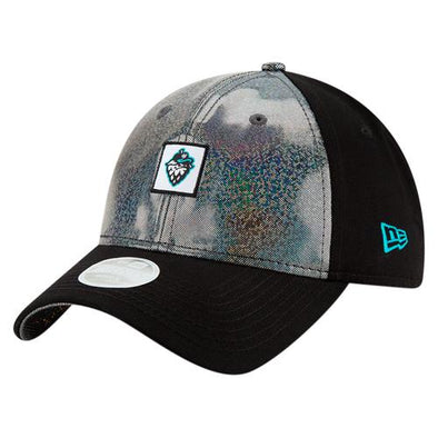 New Era Women's Black Sparkle, Hillsboro Hops