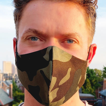 Fun Camouflage Face Coverings
