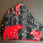 Warm Flannel Polar Bears  - Soft & Warm Flannel Collection