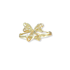 Butterfly Ring, 14k Gold