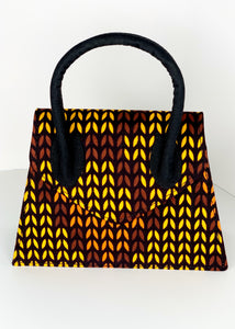 Bisty Gal Purse- Brown/Yellow