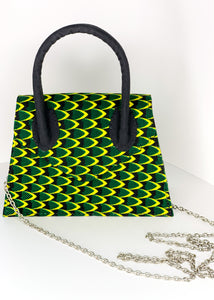 Bisty Gal Purse- Green/Yellow