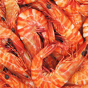 QLD Whole Cooked Tiger Prawns