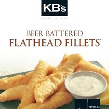 KB Beer Battered Flathead 1kg