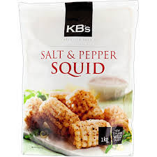 KB Salt & Pepper Squid 1kg