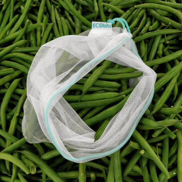 Reusable Produce Bags - Medium (25cm x 30cm) (4 pack)