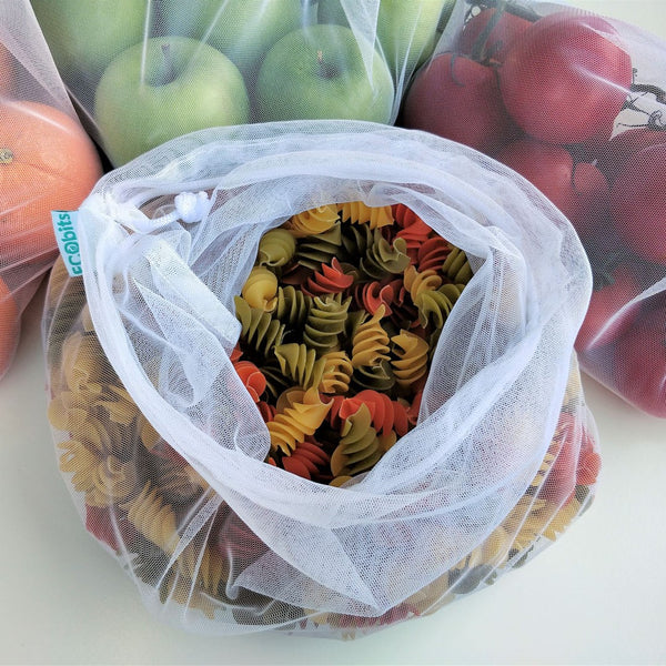 Reusable Produce Bags - Large (30cm x 40cm) (4 pack)