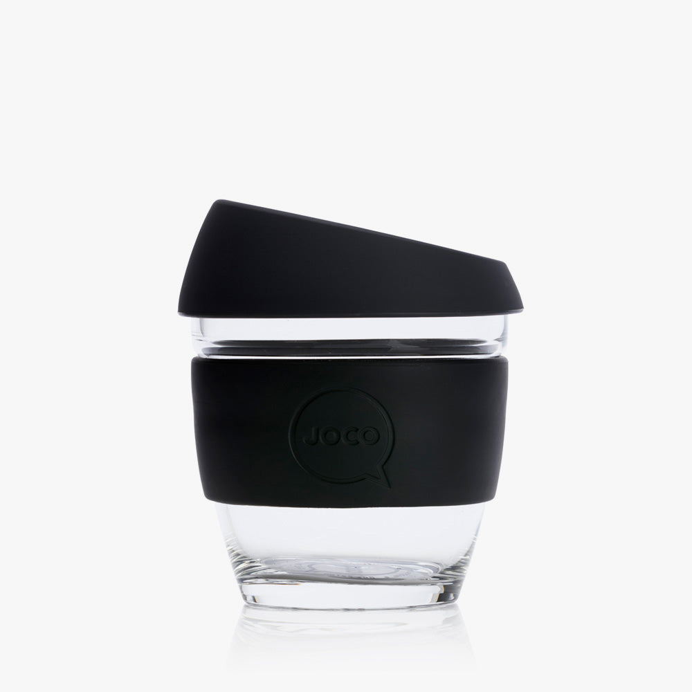 JOCO Reusable Coffee Cup 8oz/236mL (Black)