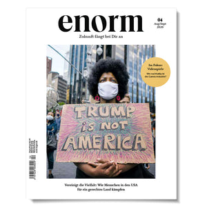 enorm Magazin Trump is not America