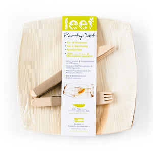 Leef Party-Set mit Banderole
