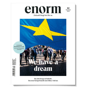 Cover enorm 02-19 We have a dream