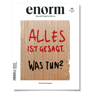 Cover enorm 05-19 Alles ist gesagt. Was tun?