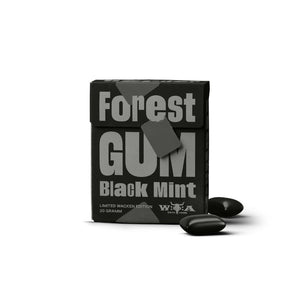 Forest Gum Black Mint Wacken Edition Einzelpackung 20g