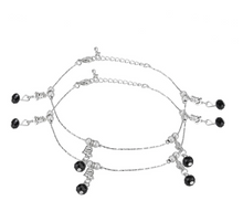 Load image into Gallery viewer, Beads and Stones Fashion Anklet - Kiwibay
