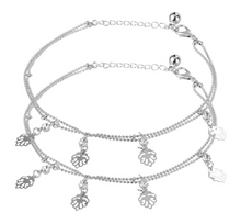 Load image into Gallery viewer, Crystal and Beads Anklet - Kiwibay