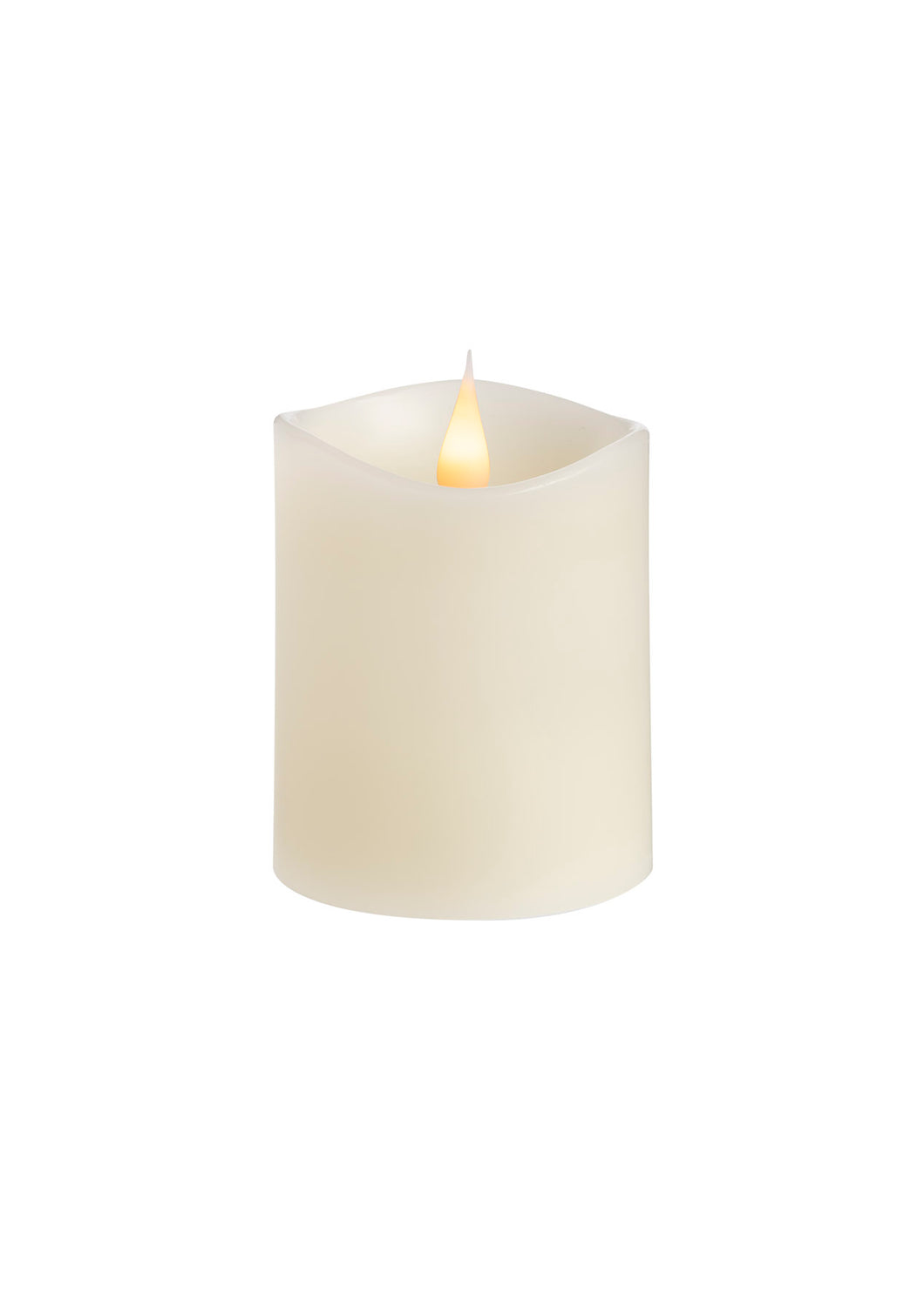 LED Column Candle Lights Ivory - Kiwibay
