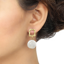 Load image into Gallery viewer, Pearl Drop Earrings - Kiwibay