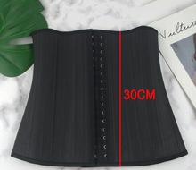 Load image into Gallery viewer, Latex Waist Trainer Corset Shapewear