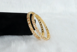 Imitation Diamond Bangles - Designer Indian Jewellery for Less - Kiwibay