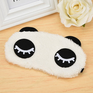 Cute Plush Unicorn Eye Mask - Kiwibay