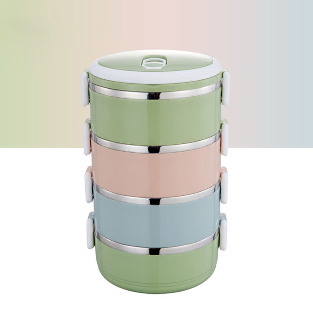 Stainless Steel Thermal Lunch Box - Kiwibay