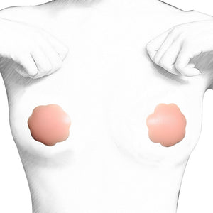 Silicone Breast Nipple Cover Bra Pasties Reusable Self-Adhesive - Kiwibay