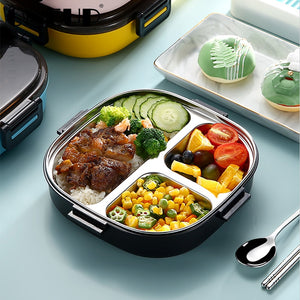 Stainless Steel Thermal Lunch Box with Cutlery - Kiwibay
