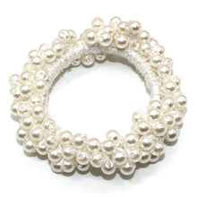 Load image into Gallery viewer, Pearl Hair Ties |  Pearl Ponytail Holders - Kiwibay