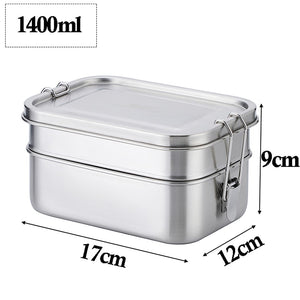 Stainless Steel Bento Lunch Box - Kiwibay