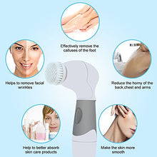 Load image into Gallery viewer, Electric 4 In 1 Facial Cleansing Brush - Kiwibay