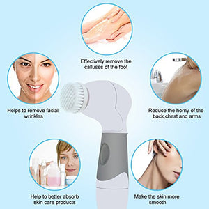 Electric 4 In 1 Facial Cleansing Brush - Kiwibay
