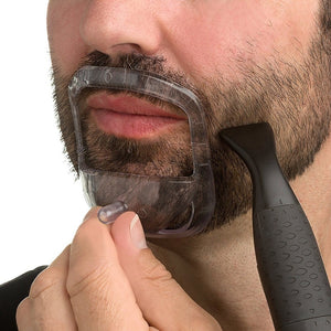 Goatee Shaping Tool | French Beard Moustache Shaper - Kiwibay