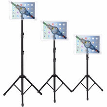 Load image into Gallery viewer, iPad | Tablet Tripod - Height Adjustable 360 Rotating Floor Stand | All 7-12 inch Tablets - Kiwibay