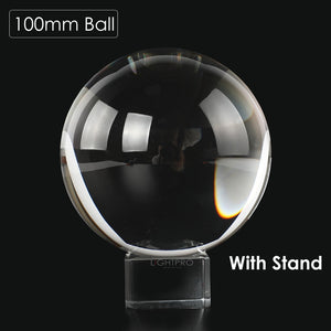 LensBall - Crystal Quartz Clear Magic Glass Ball with Portable Bag for Photography - Kiwibay