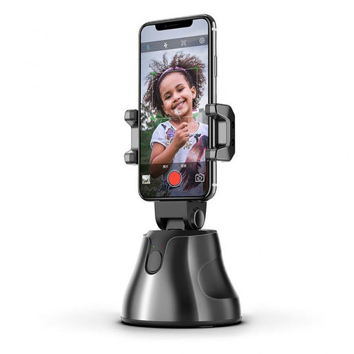 Face Tracking Smart Gimbal for 360° Face Photo Follow Up Shooting for Vlog or Live Video Recording with Smartphones - Kiwibay