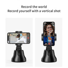 Load image into Gallery viewer, Face Tracking Smart Gimbal for 360° Face Photo Follow Up Shooting for Vlog or Live Video Recording with Smartphones - Kiwibay