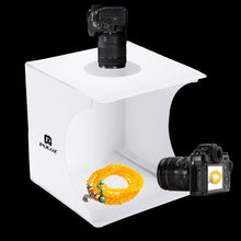 Load image into Gallery viewer, Product photography Lighting Studio - Portable with dual LED Panels - Kiwibay