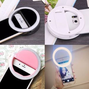 Universal Selfie Ring Light for Mobile Phone - Kiwibay