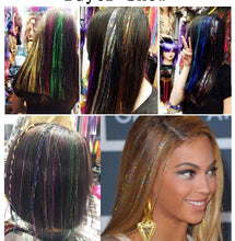 Load image into Gallery viewer, Sparkling Hair Tinsel - Bling Hair Extensions - Kiwibay