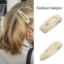 Load image into Gallery viewer, Pearl Hair Clips - Kiwibay